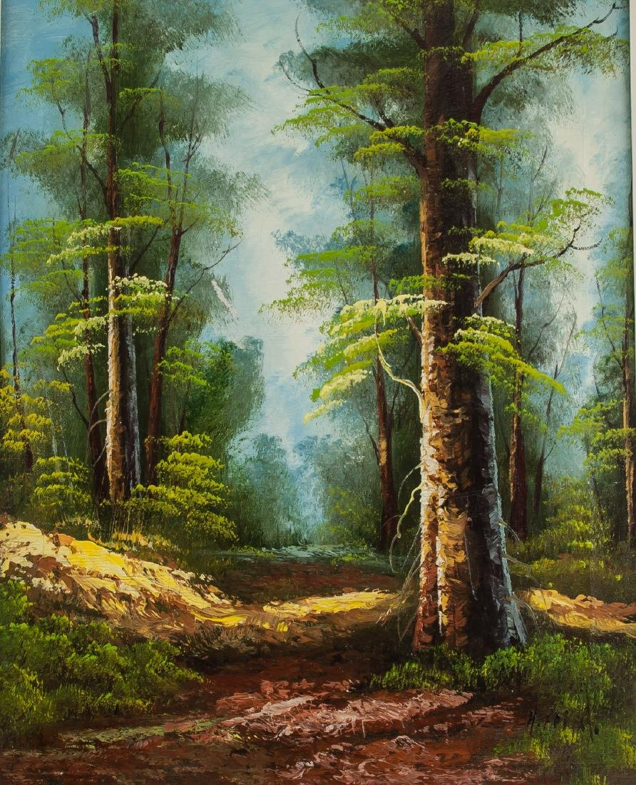 Canadian Landscape Oil on Canvas Painting