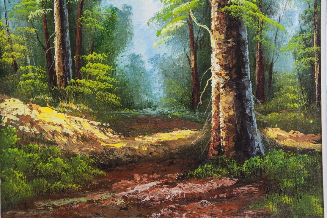 Canadian Landscape Oil on Canvas Painting - 3