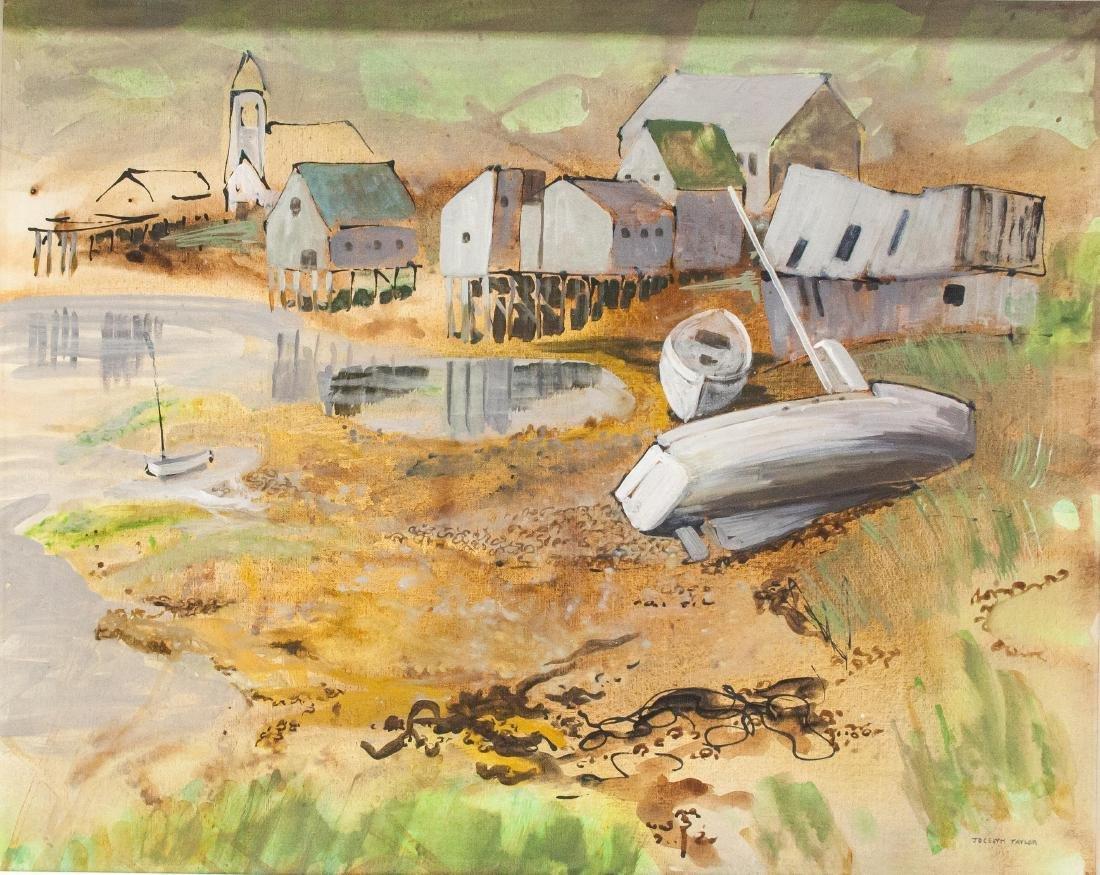 Jocelyn Taylor 1899-1992 Woodward's Cove Oil Board
