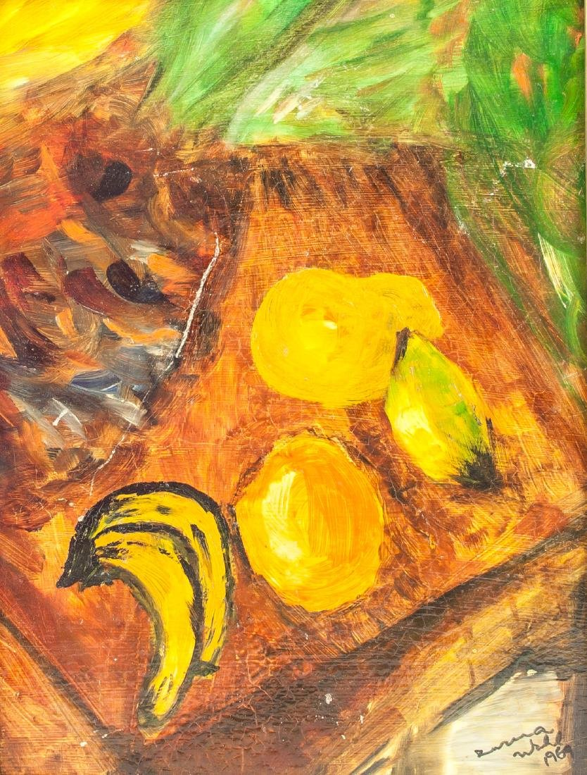 Susan Wohl (Czech, d. 2012) Bananas, Mangoes OOC