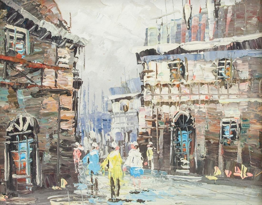 Caroline Burnett OOC Parisian Street Scene