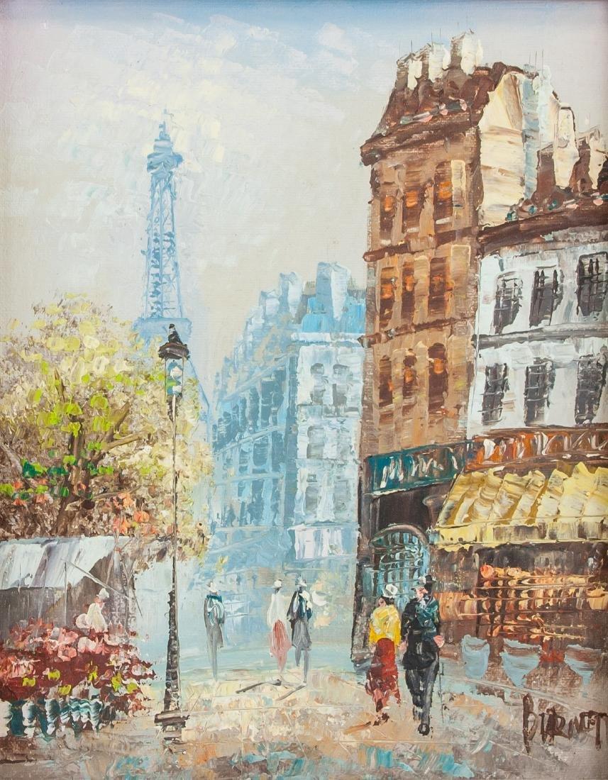 Caroline C. Burnett OOC Parisian Street Scene