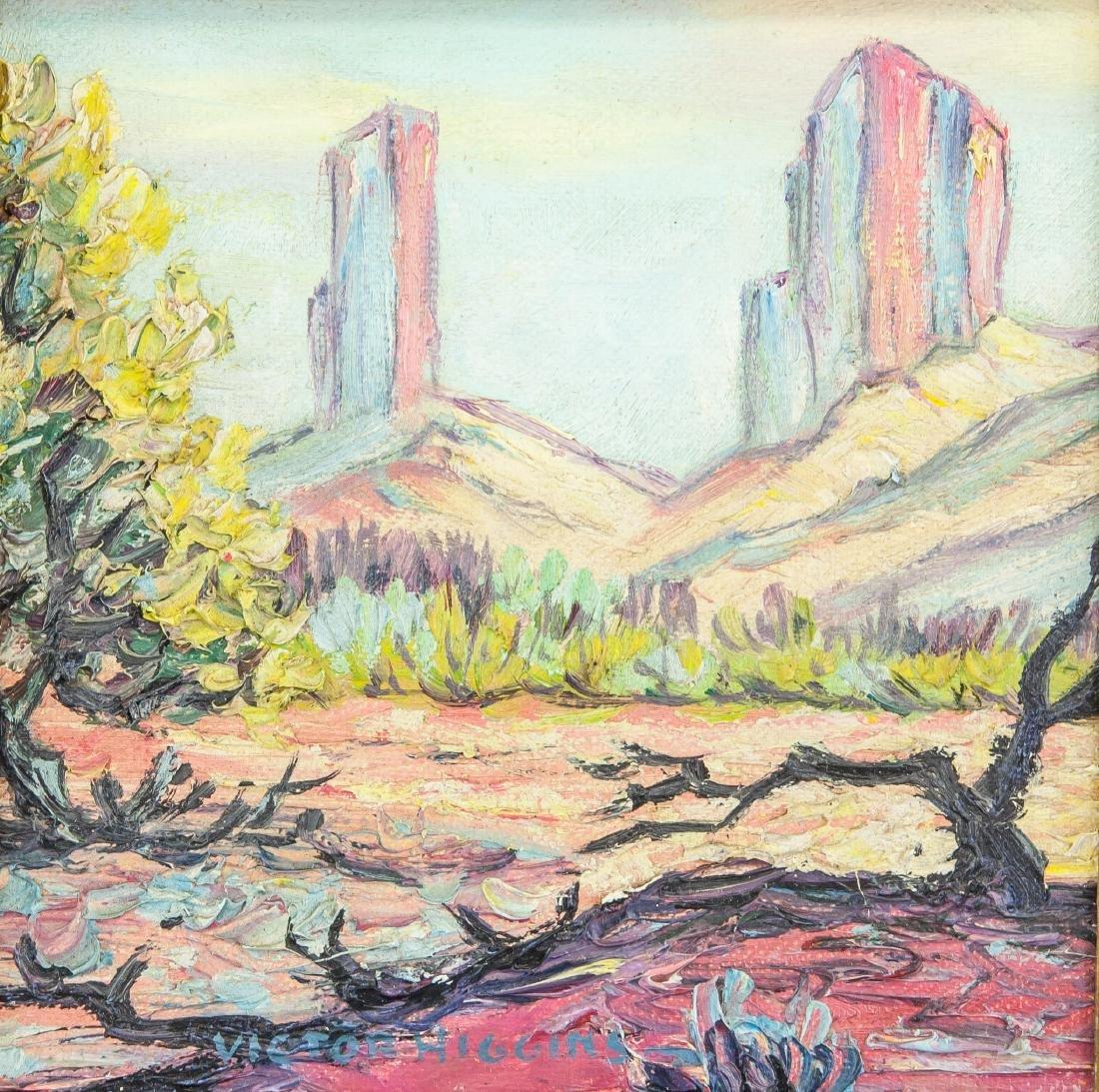 Victor Higgins 1884-1949 American Oil Landscape