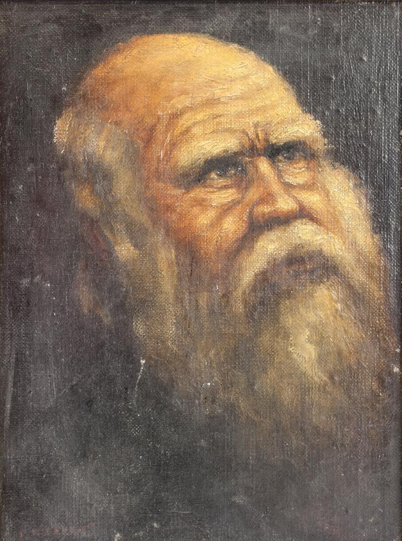 Joset Hilpert Yugoslavia 1895-1975 OOC Portrait