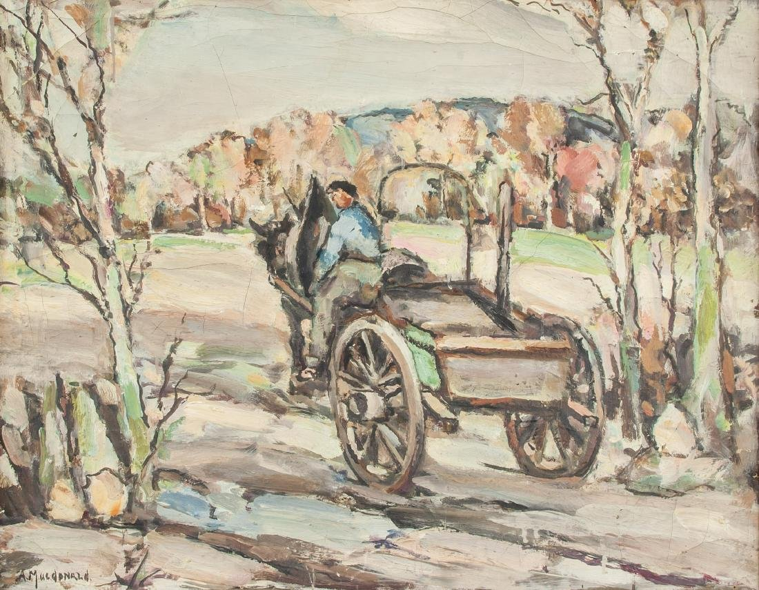A. MacDonald OOC Horse-Drawn Carriage
