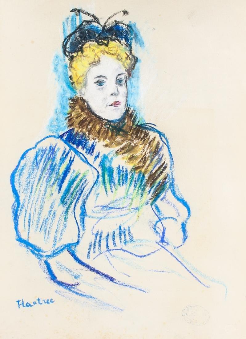 Henri de Toulouse-Lautrec French 1864-1901 Pastel