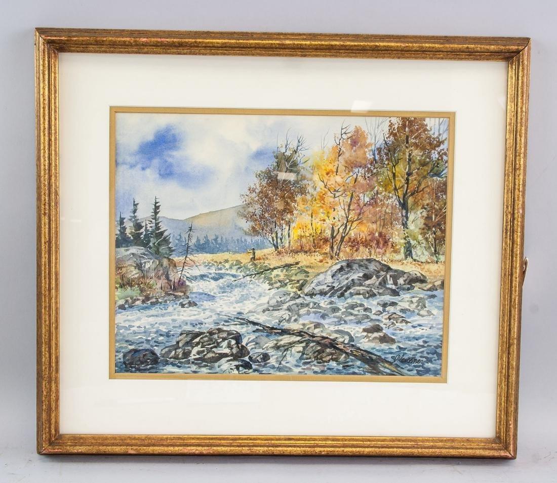 Ogden Pleissner 1905-1983 WC Autumn Hunting - 2