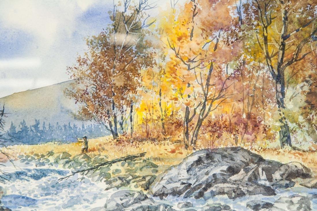 Ogden Pleissner 1905-1983 WC Autumn Hunting - 3