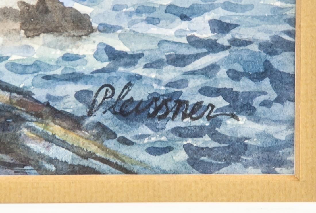 Ogden Pleissner 1905-1983 WC Autumn Hunting - 4