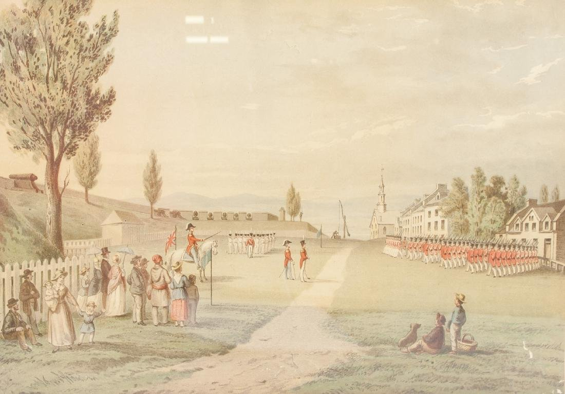 R.A. Sproule 1799-1845 Print Esplanade and Quebec