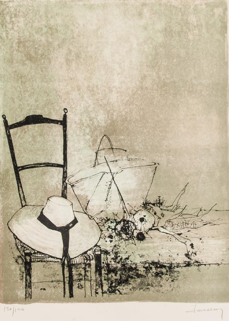 Jean Jansen French-American b. 1920 Lithograph