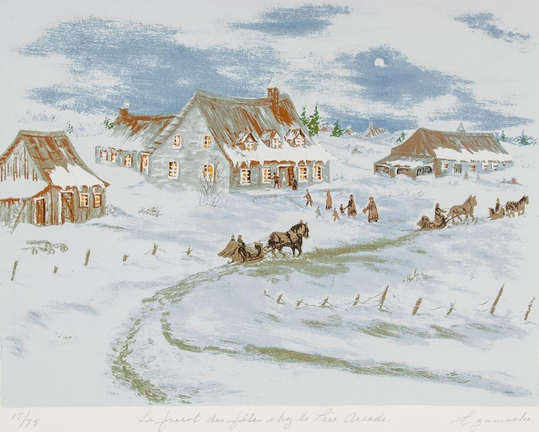 17/75 Print Winter Landscape
