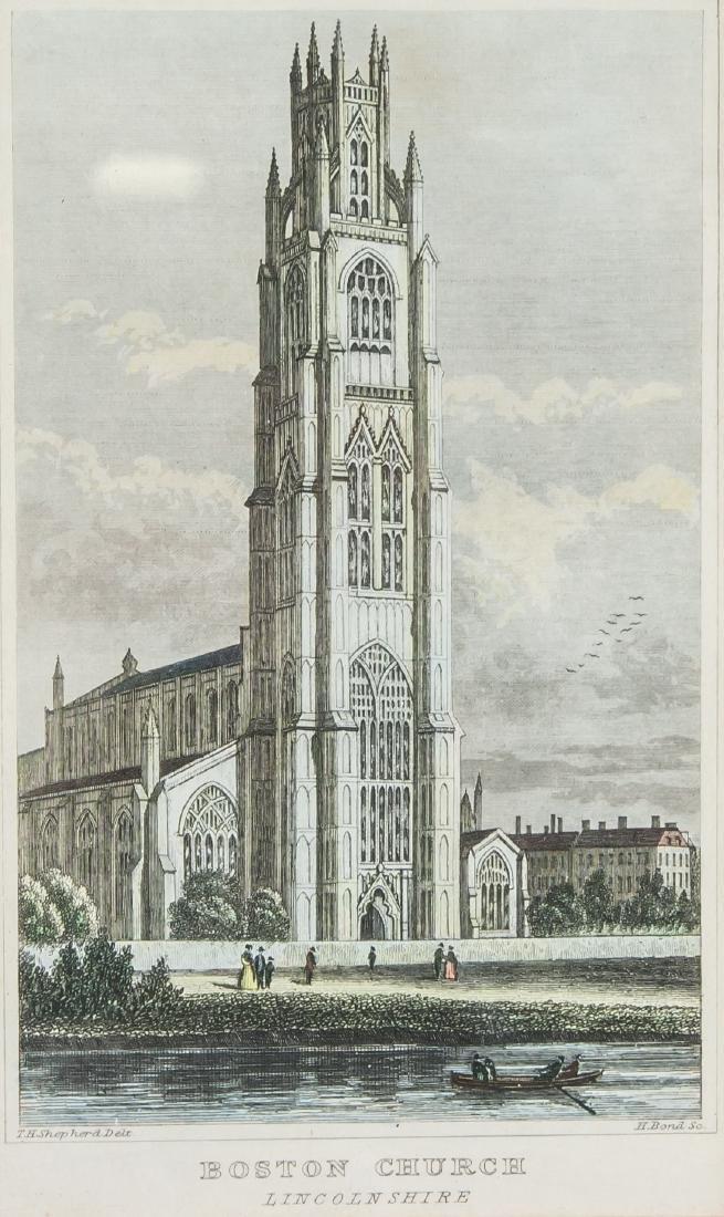Boston Church Lithograph, England