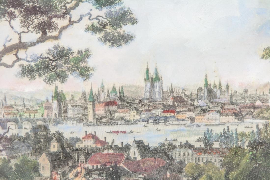 Wilhelm Kandler Print on Linen (1816-1896) 1850 - 3