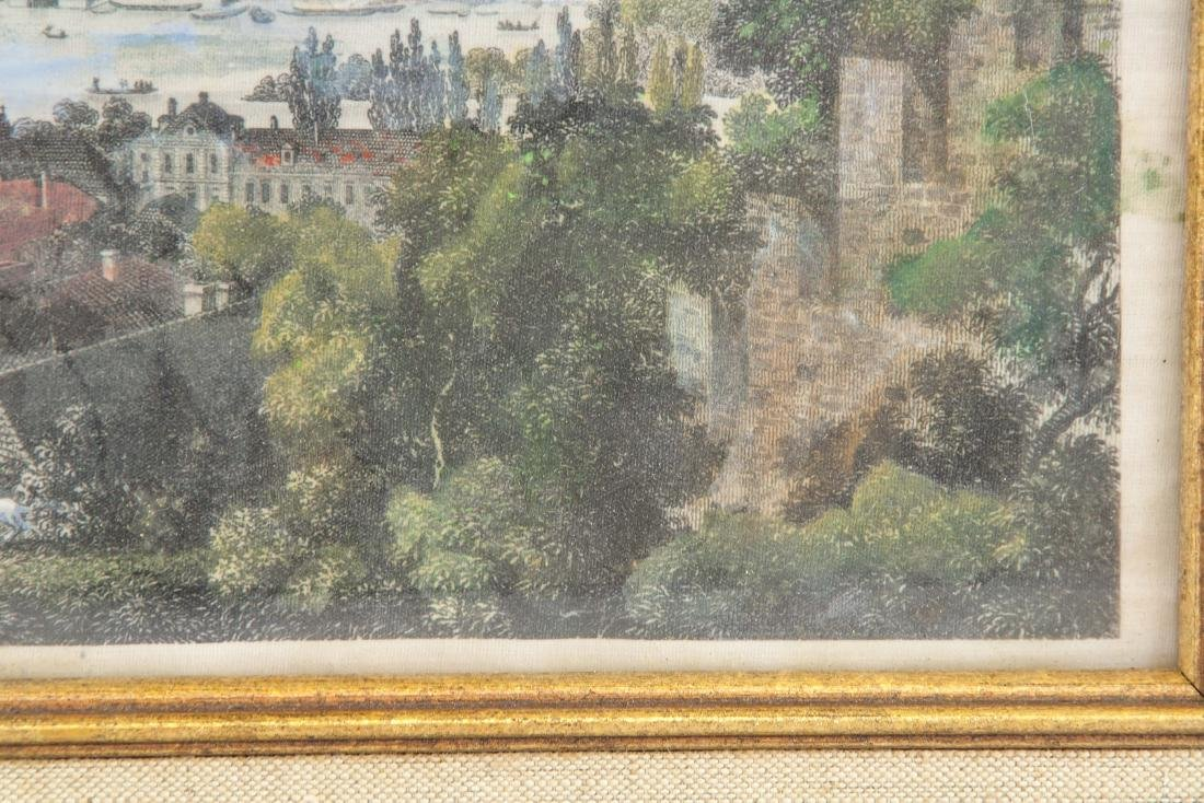 Wilhelm Kandler Print on Linen (1816-1896) 1850 - 4