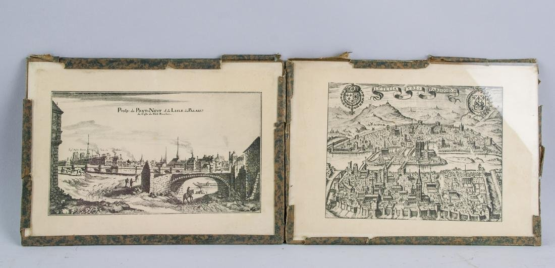Two Etchings of Quebec