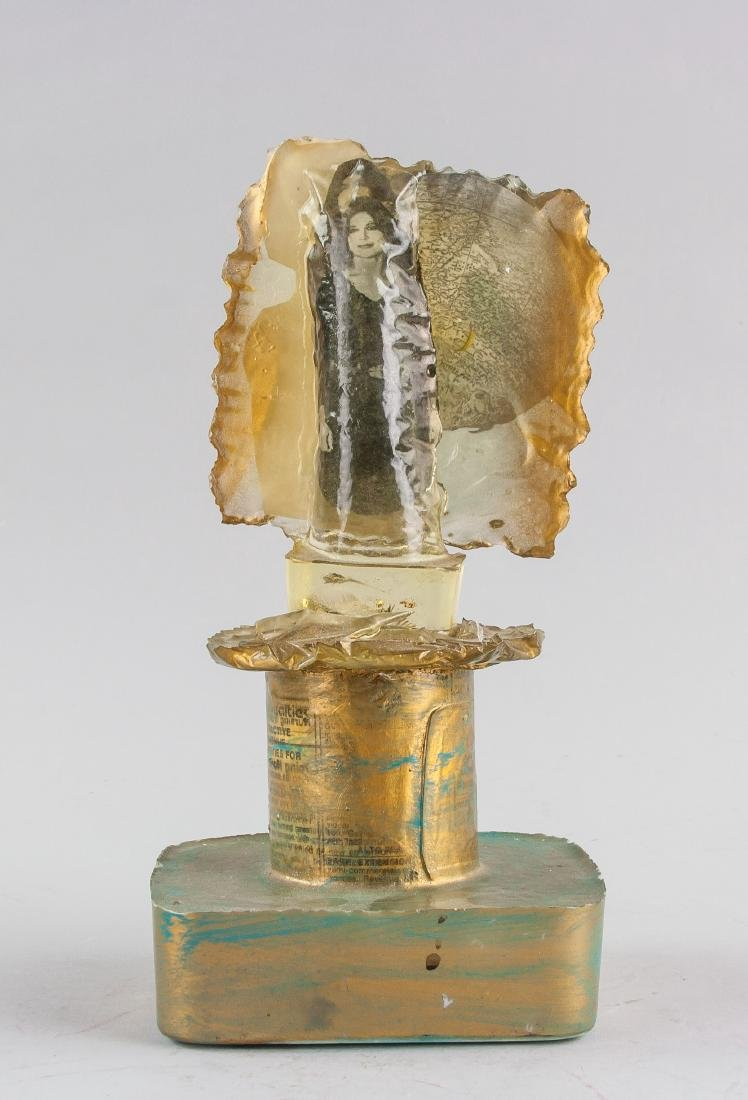 Hannah Franklin b.1937 Acrylic Resin Sculpture