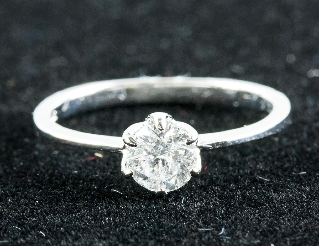 10k Gold 0.50ct Brilliant Cut Diamond Ring
