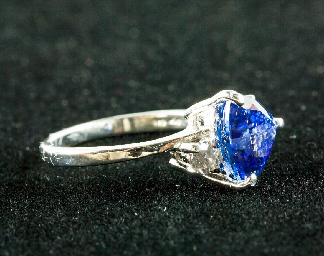 2.60ct Tanzanite & 0.18ct Diamond Ring - 2