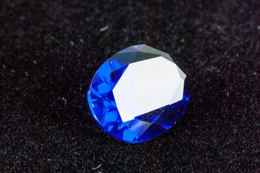 OVAL CUT 14.26 CT ROYAL BLUE SAPPHIRE 13x18mm - 6