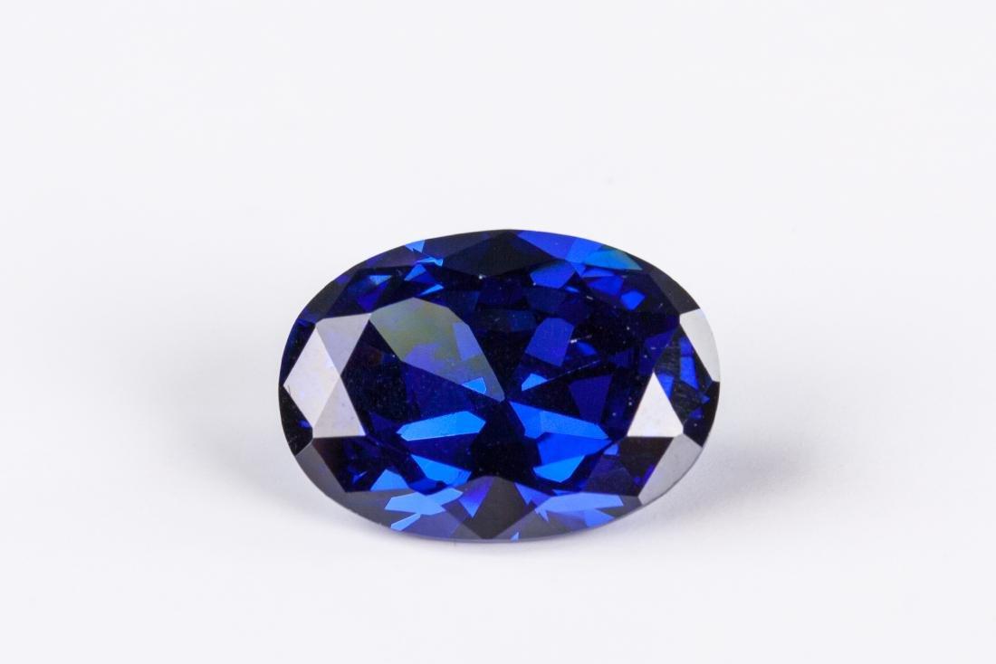Brilliant 20.38CT Top Blue Tanzanite 13X18mm Oval