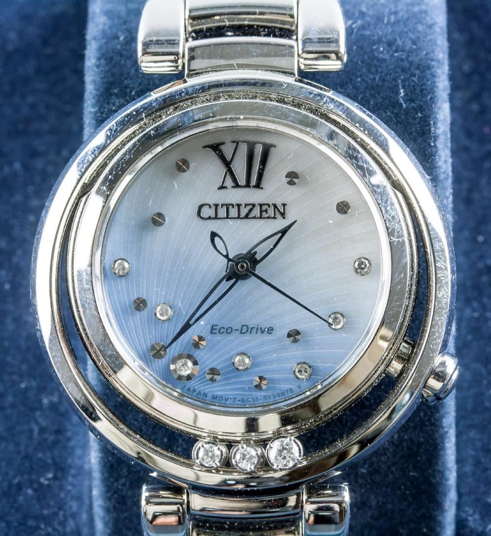 Citizen Eco-Drive Women's Crystal Watch