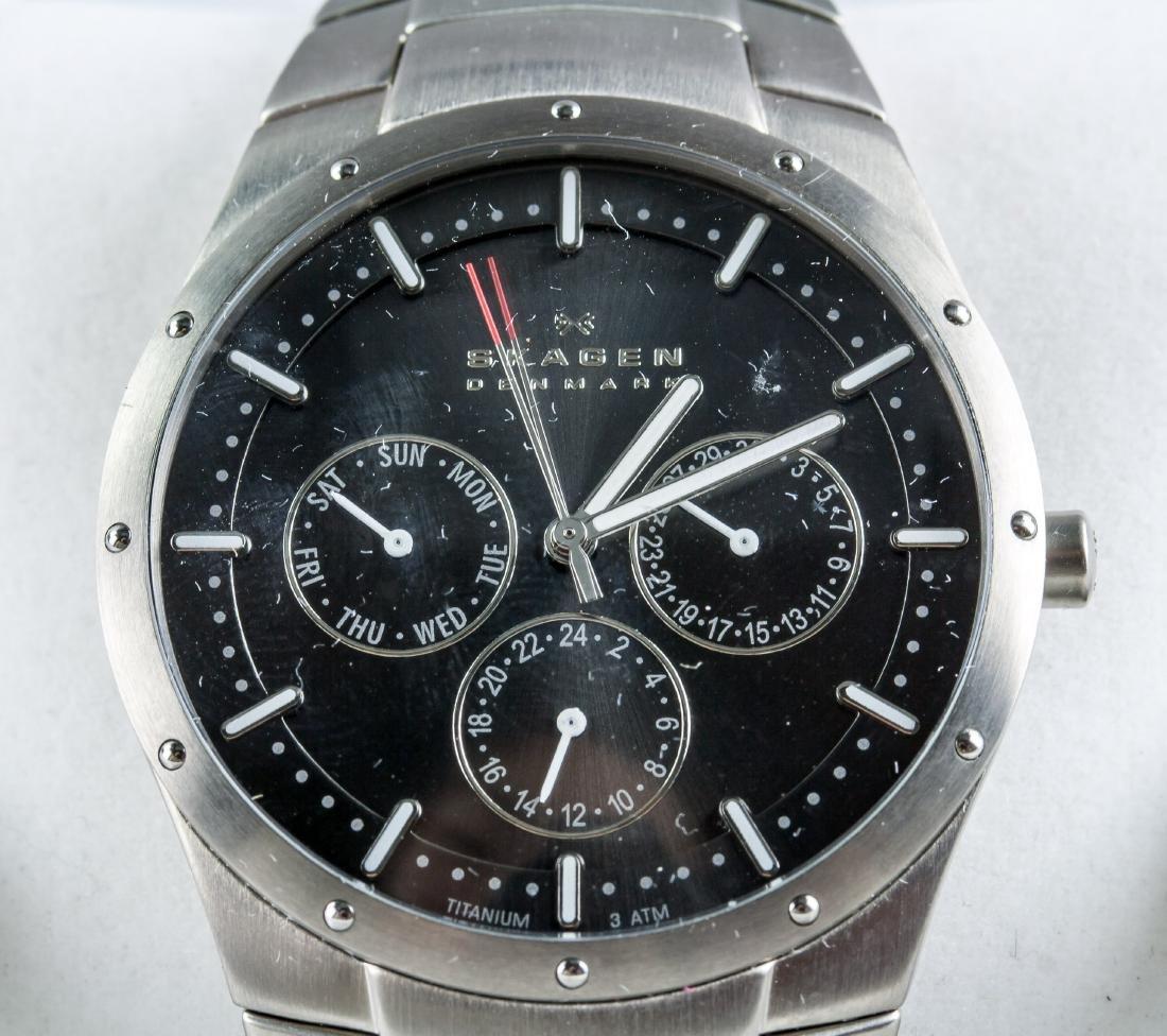 Skagen Denmark Stainless Steel Watch