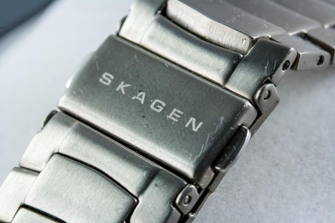 Skagen Denmark Stainless Steel Watch - 4