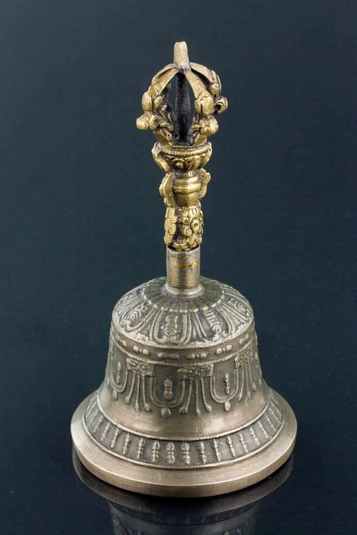 Tibetan Bronze Thunderbolt Bell