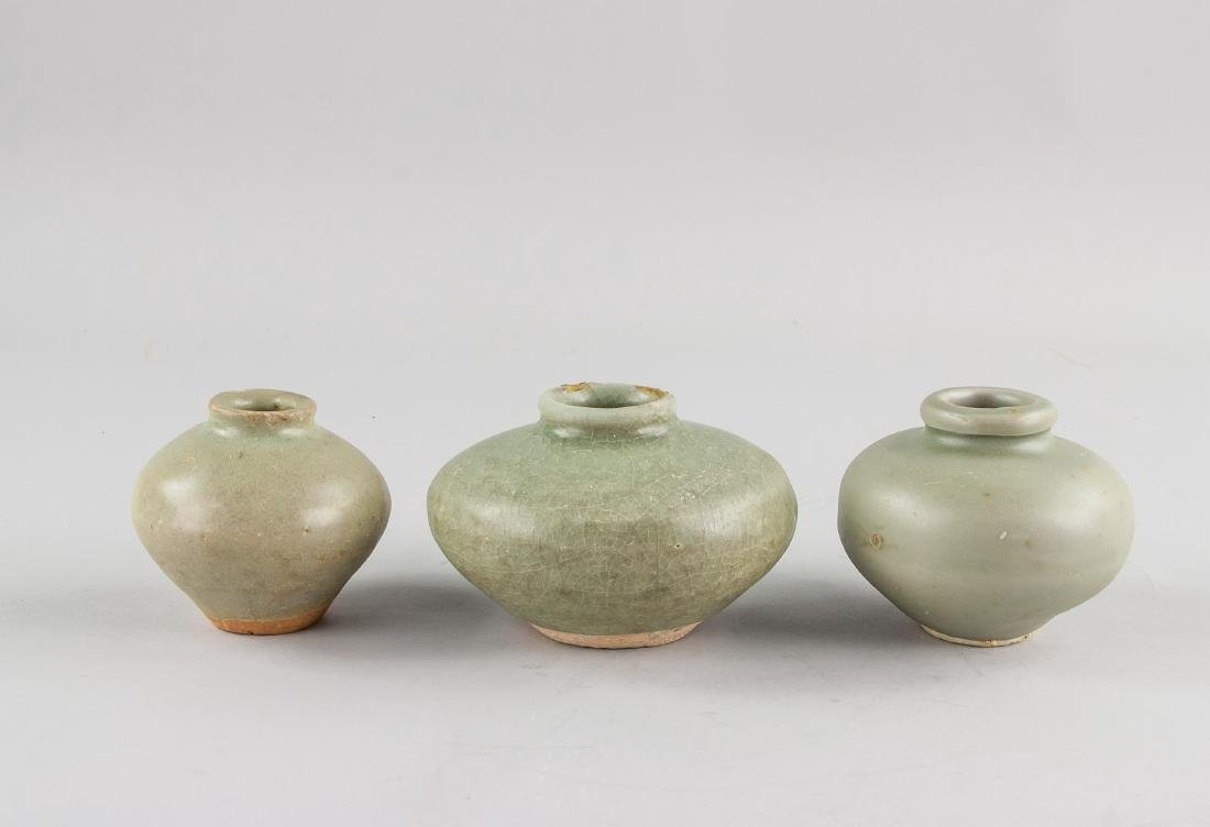 3 Song Dynasty Celadon Jar Kalimantan Shipwreck