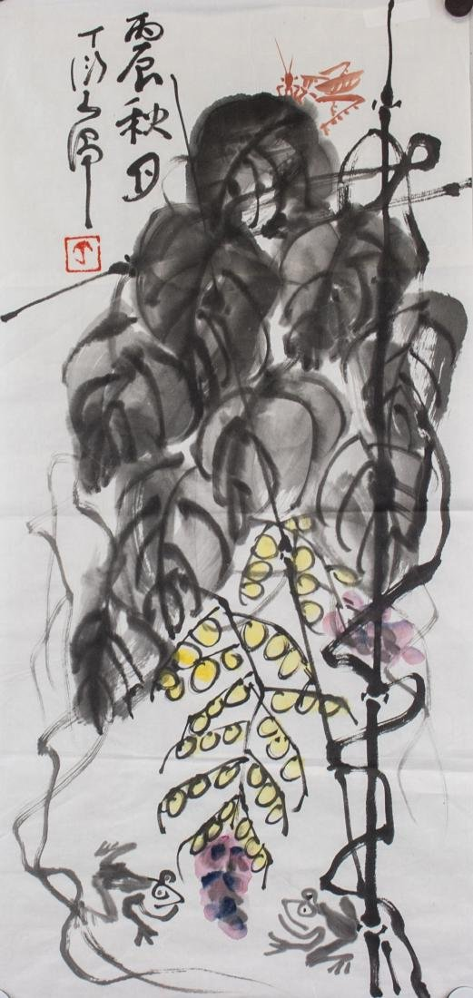 Ding Yanyong 1902-1978 Chinese Watercolour Paper