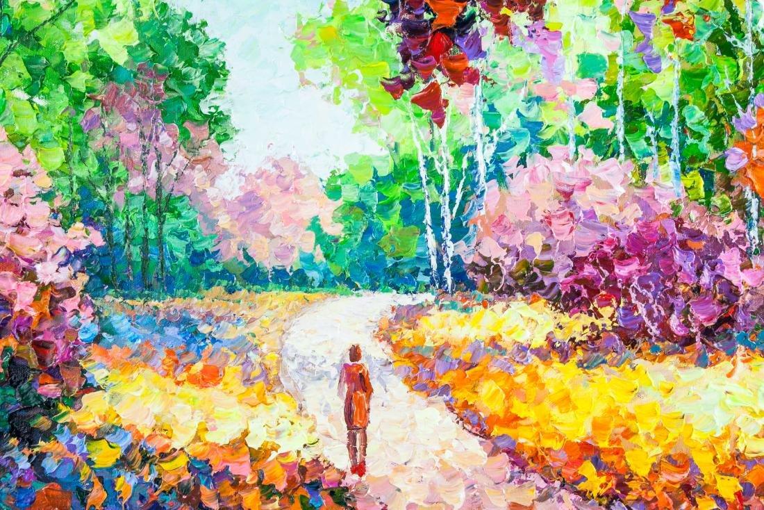 Alexander Antanenka Russian Acrylic Lonely Walker - 3