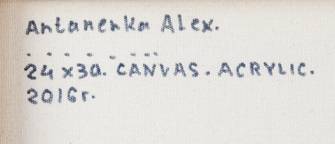 Alexander Antanenka Russian Acrylic Lonely Walker - 6