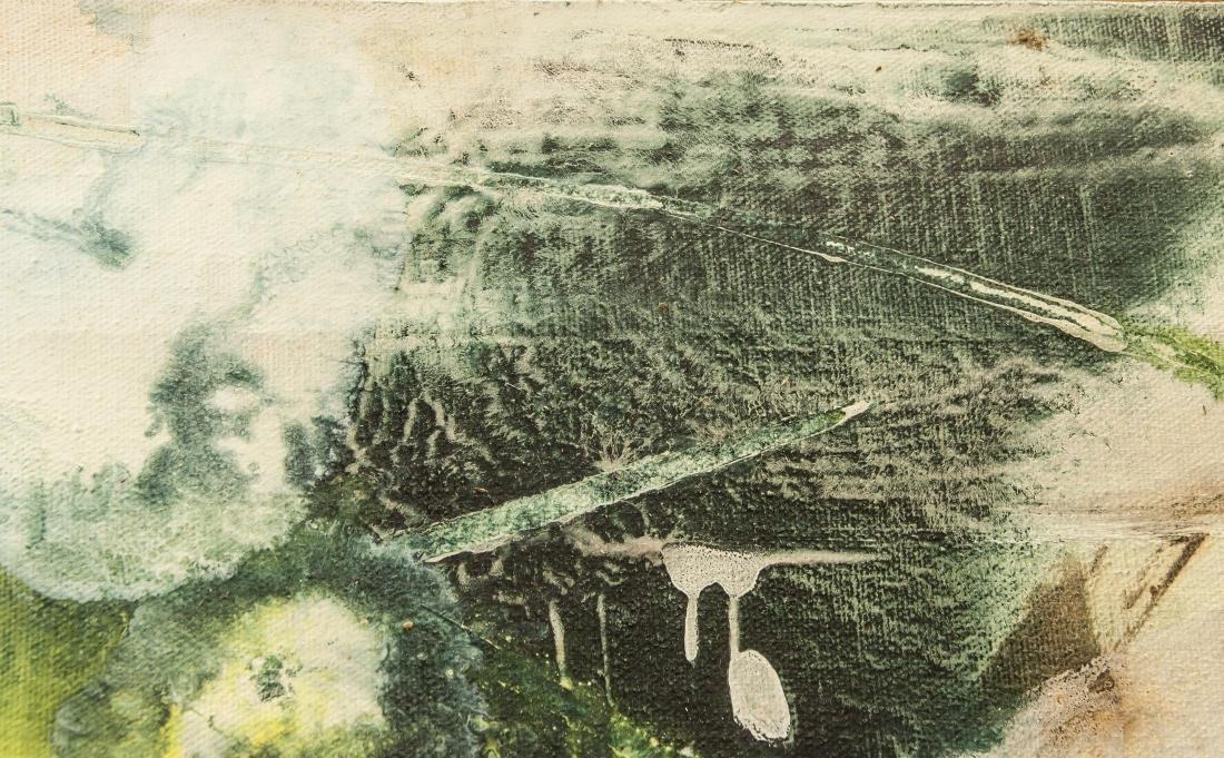 Chuang Che b.1934 Taiwan Acrylic & Oil Provenance - 6