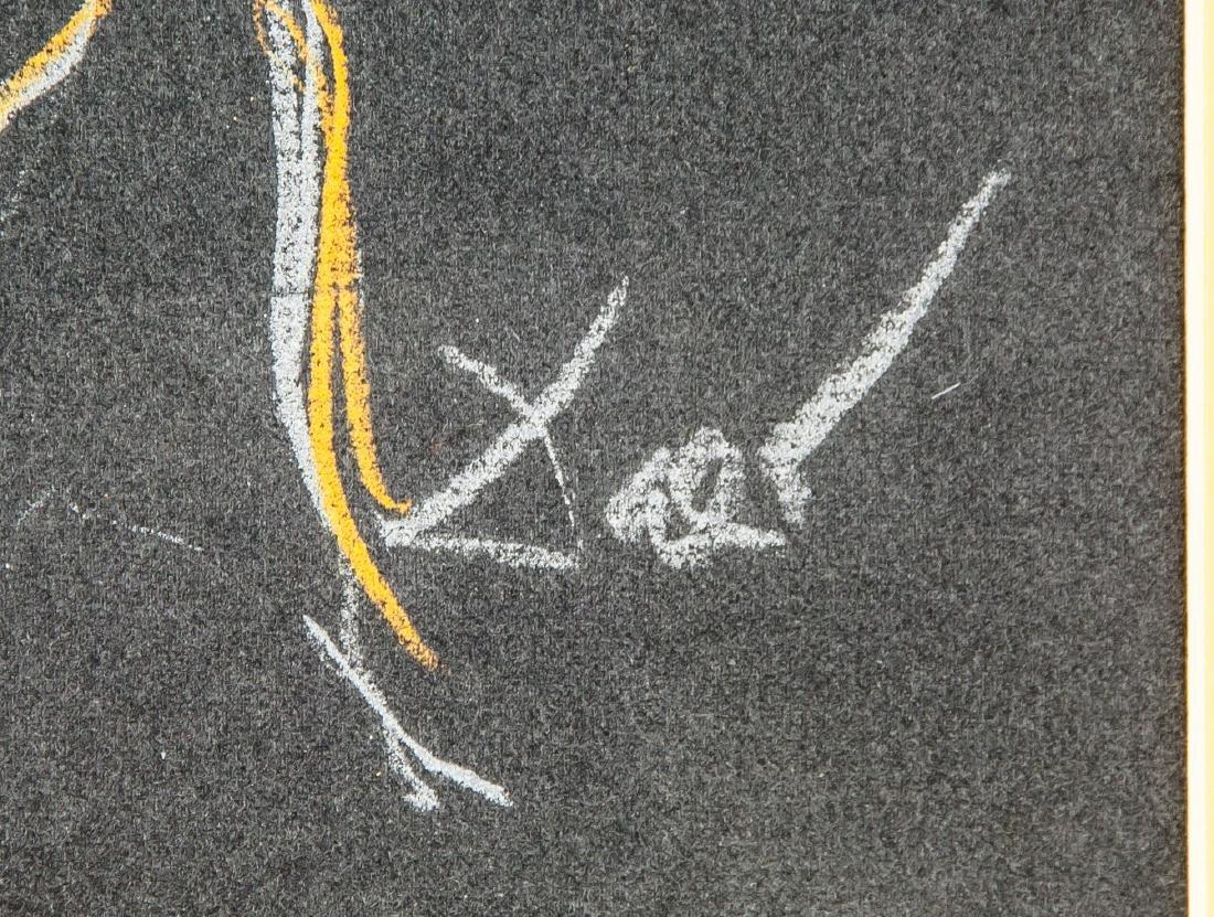 Salvador Dali 1904-1989 Spain Chalk Figure - 4