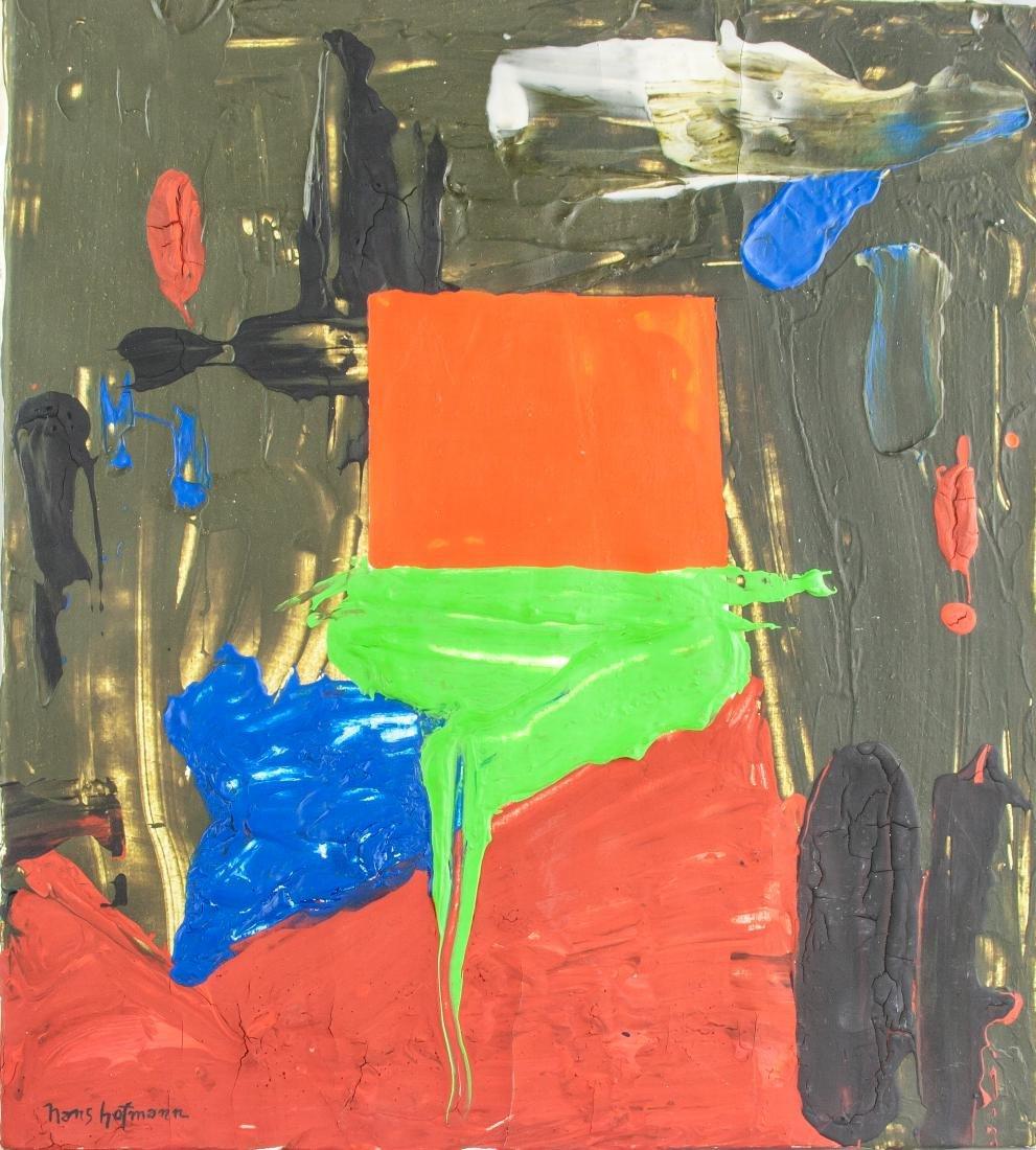 Hans Hofmann 1880-1966 American Oil Abstract