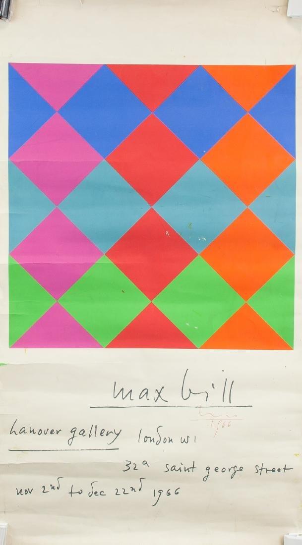 Max Bill 1908-1994 Swiss Print Composition 1966