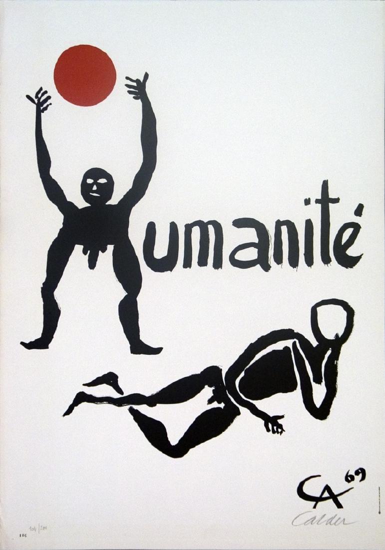 Alexander Calder 1898-1976 US Lithograph
