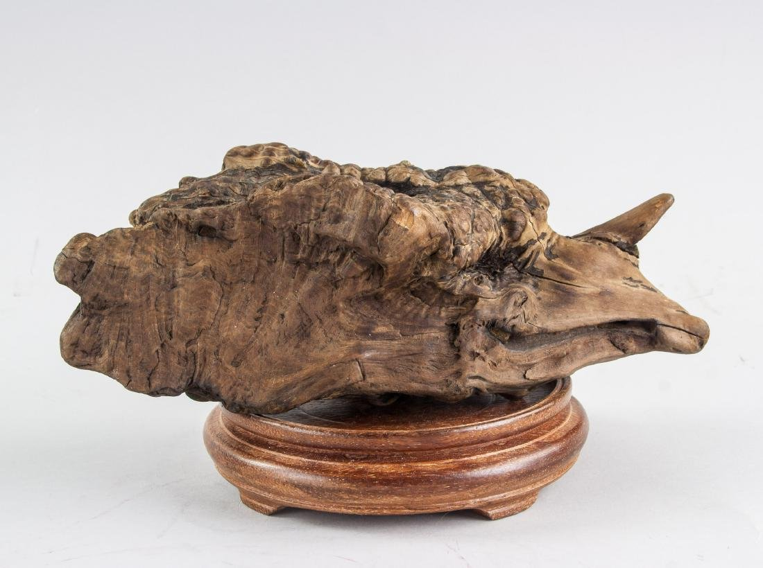 Chinese Fossilized Agarwood Scholar's Stone - 3
