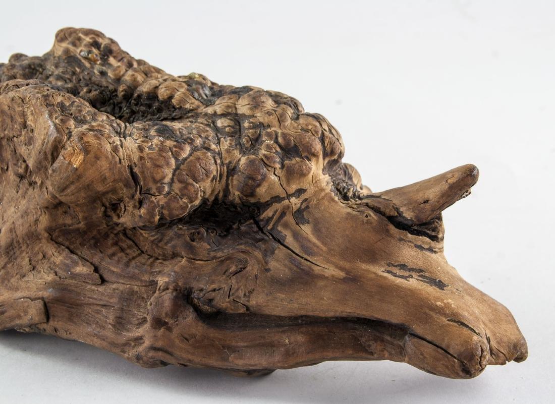 Chinese Fossilized Agarwood Scholar's Stone - 7