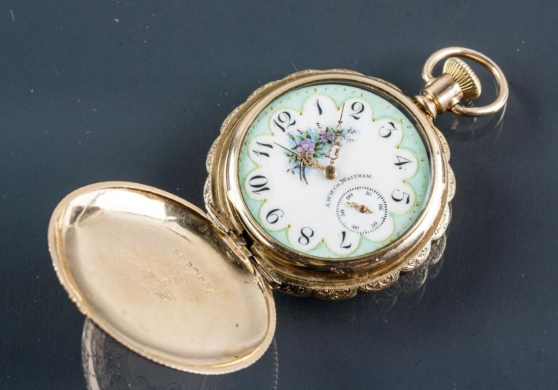 1885-1927 US Waltham Keystone Pocket Watch Working