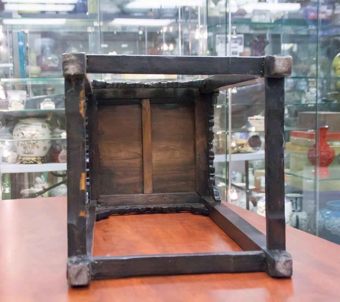 Huanghuali Square Incense Table, Xiangji - 6