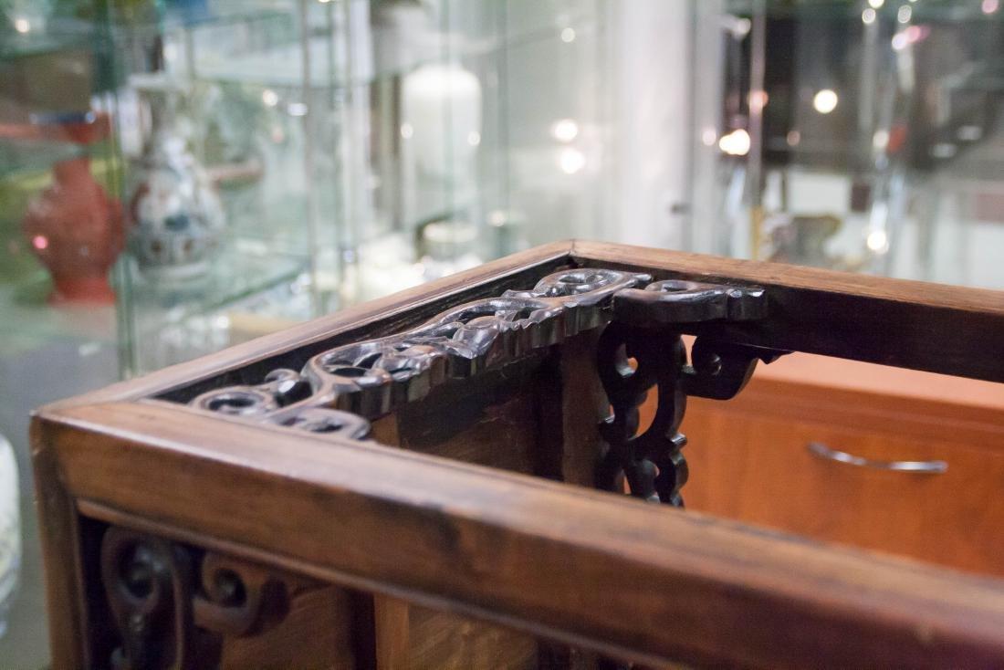 Huanghuali Square Incense Table, Xiangji - 8