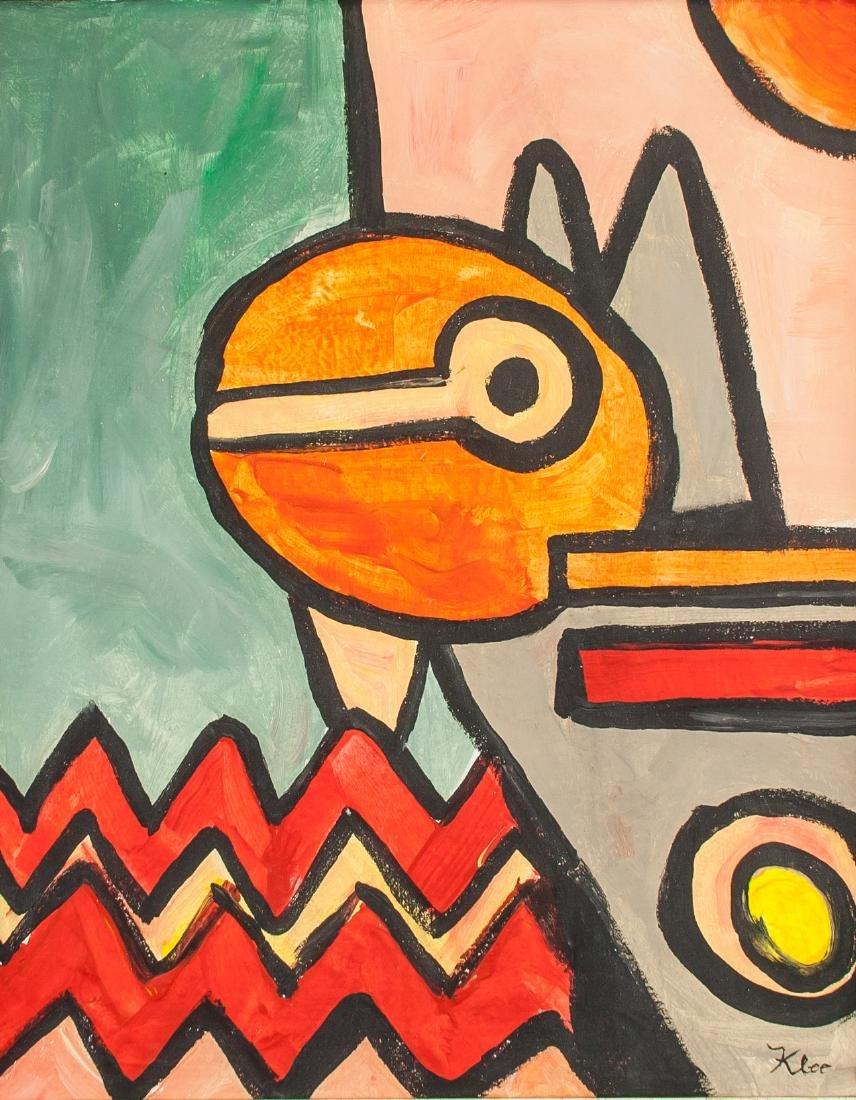 Paul Klee (German-Swiss 1879-1940) OOC Abstract
