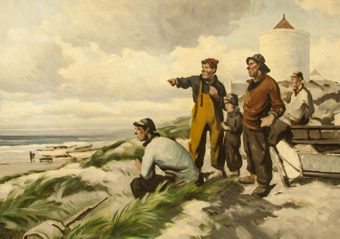 Polish Oil on Canvas w/Frame Signed