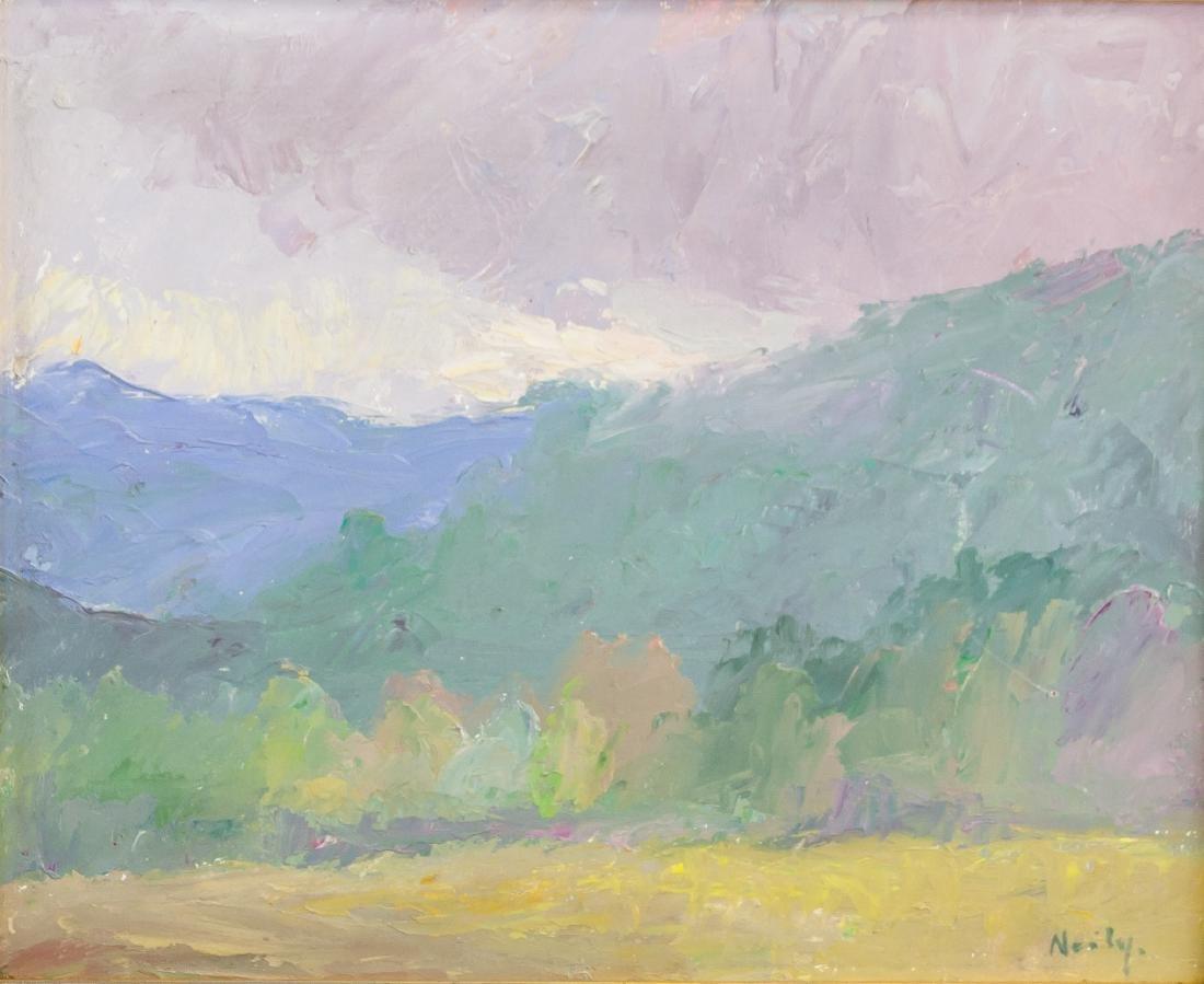 Hilda Neily b.1947 American Oil Landscape Provenance
