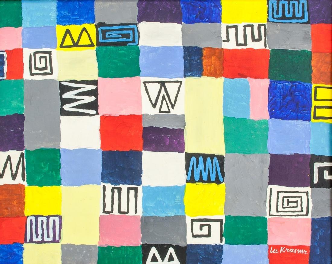 Lee Krasner (American 1908-1984) OOC Abstract