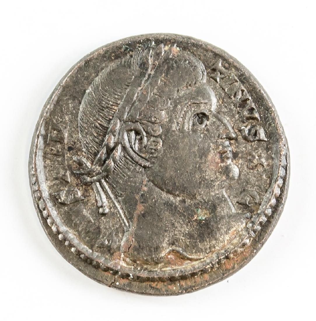 324-325 Ancient Rome Constantius II Bronze Coin