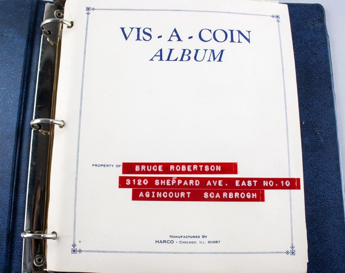 Collection Book of Assorted Coins