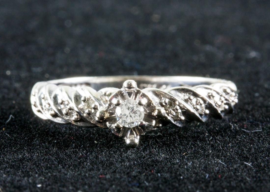 0.20ct Diamond Ring CRV $1400